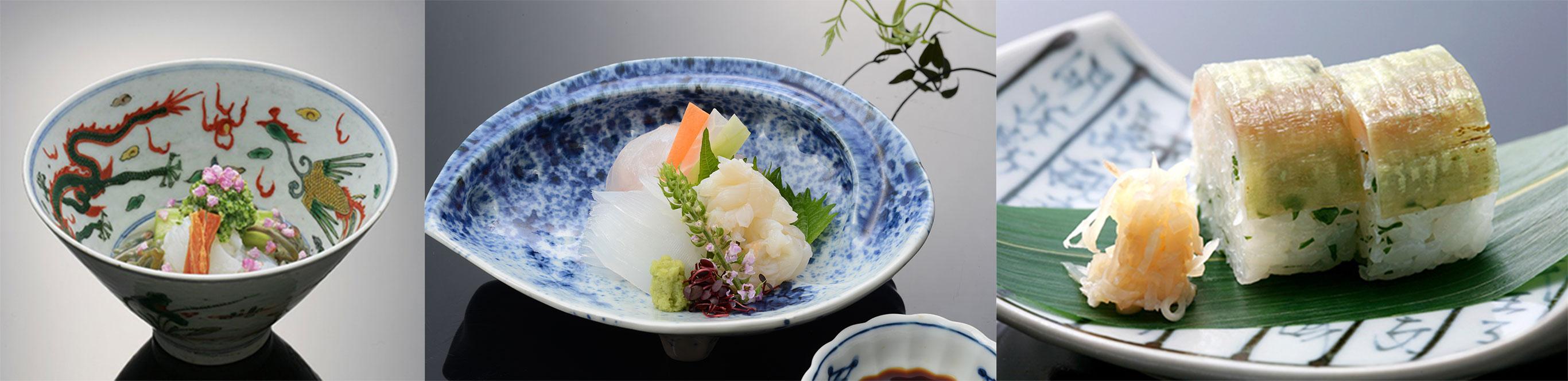 香川の地産地消を考えた料理の数々
