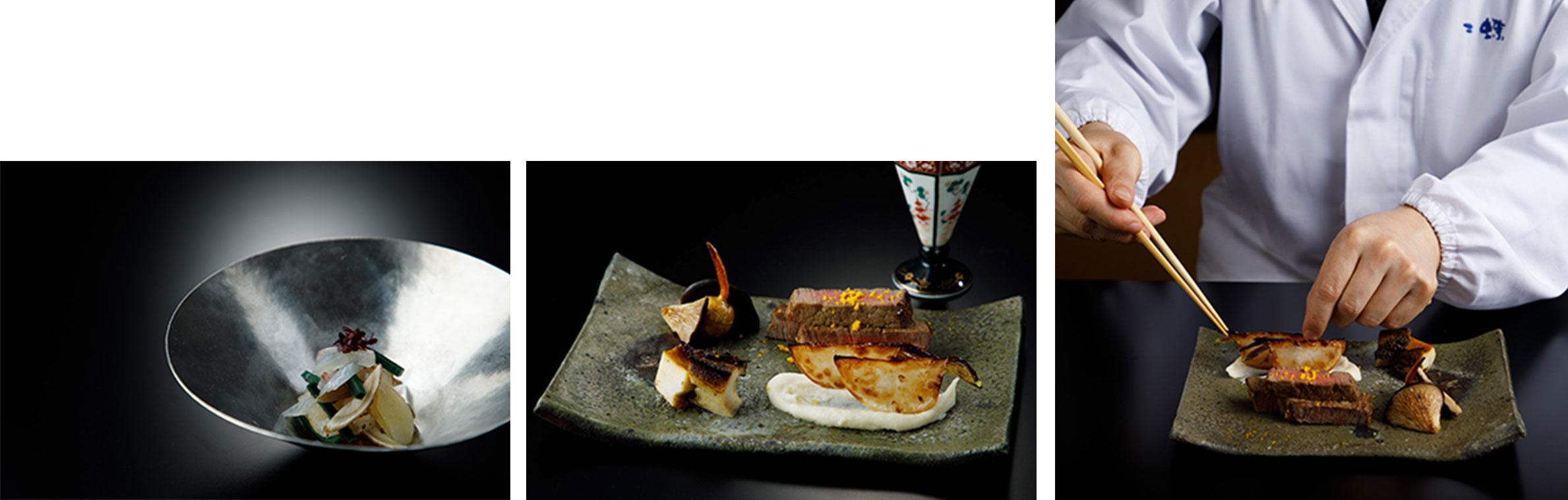 香川にしかない食材を使って新しい和食の味を作り出す