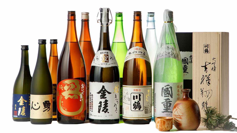 香川のお酒やお茶で和食の味を引き立てる