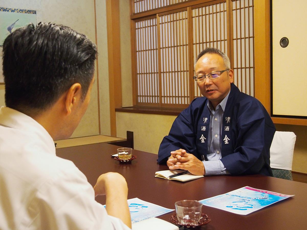 清酒金陵と二蝶が日本酒と和食のコラボに向けた座談会を開催